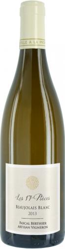 Beaujolais Blanc Les 17 pièces
